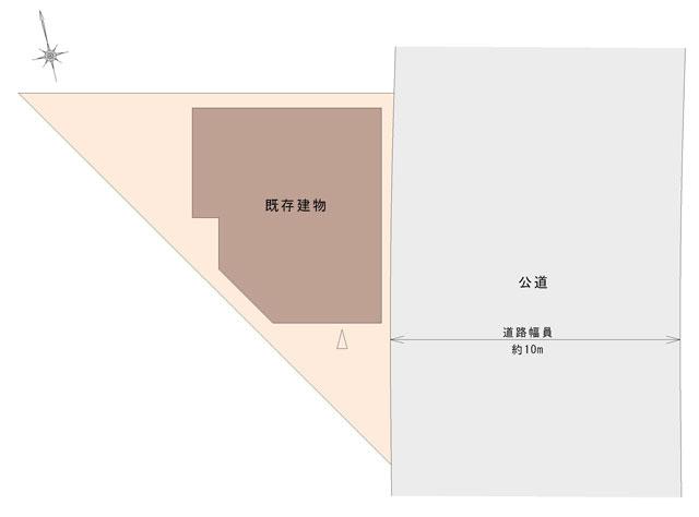 一戸建ての区画図